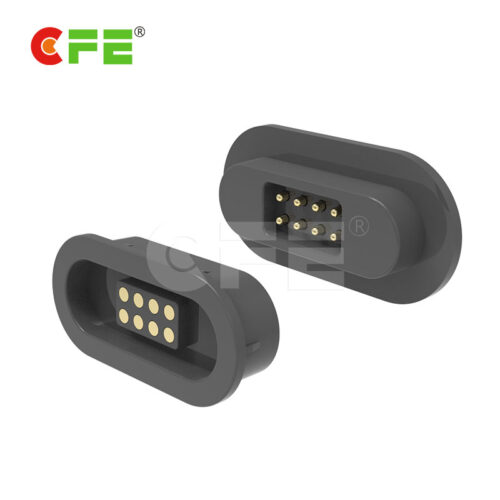 8Pin magnetic dc connector with usb