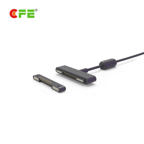 CFE Customized 12 pin male and female magnetic connector for industrial tablet