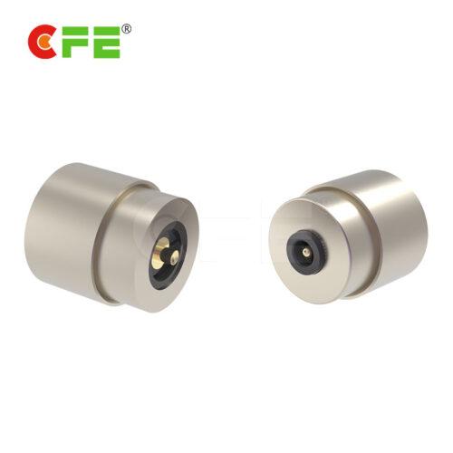 Circular 1 pogo pin magnetic power connector