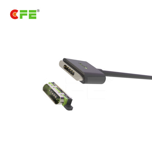 Magnetic charging cable for smartphone with USB 丨high quality