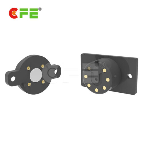Magnetic electrical connector for bicycle electronic systems