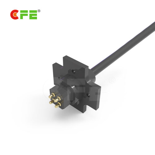 Powerful magnetic usb pogo 4 pin connector with gold plated