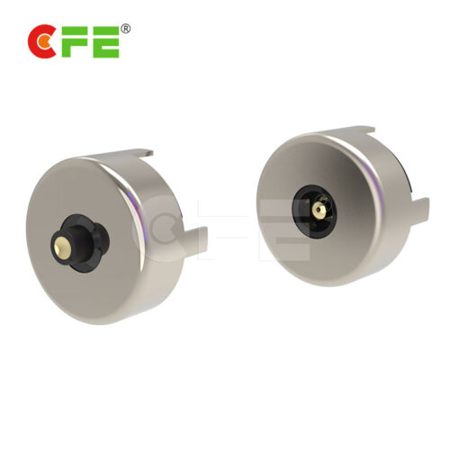 Round magnetic connector adapter for electronic device